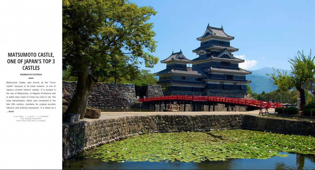 Fotopedia Magazine - Matsumoto Castle, One of Japan's Top 3 Castles