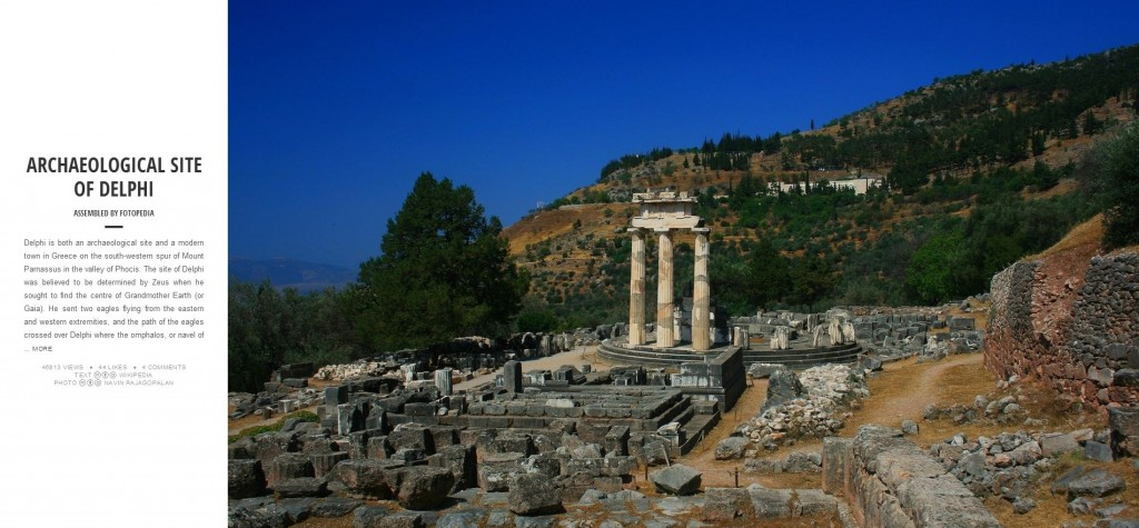 Fotopedia Magazine - Archaeological Site of Delphi
