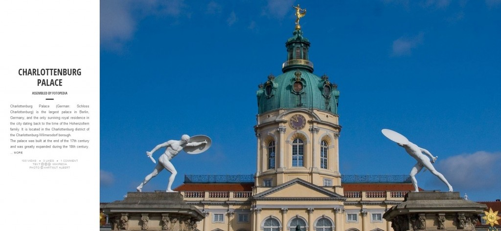 Fotopedia Magazine - Charlottenburg Palace