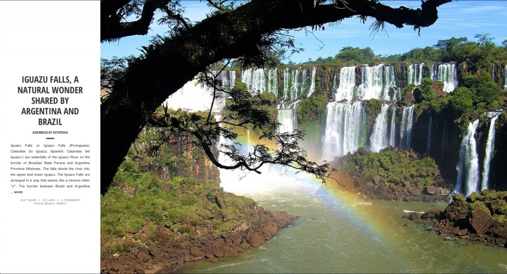 Fotopedia Magazine - Iguazu Falls - Natural Wonder Shared by Argentina and Brazil