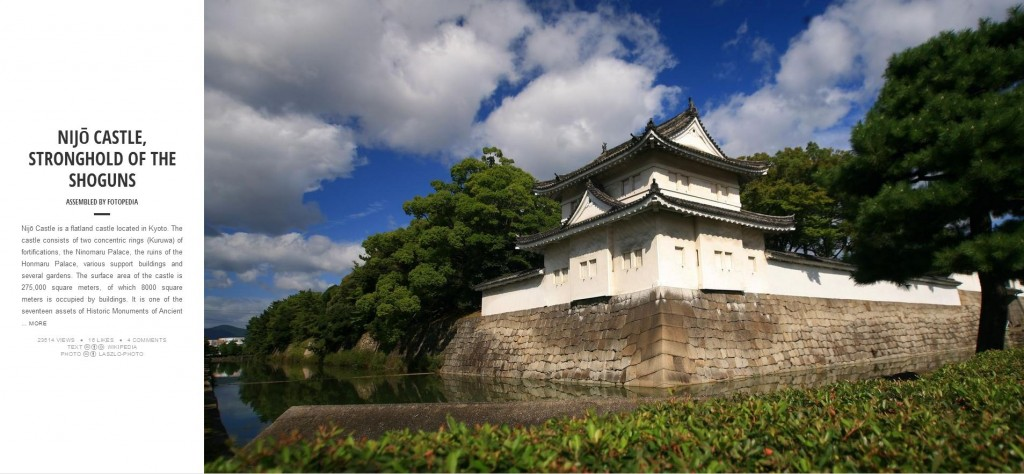 Fotopedia Magazine - Nijo Castle Stronghold of the Shoguns