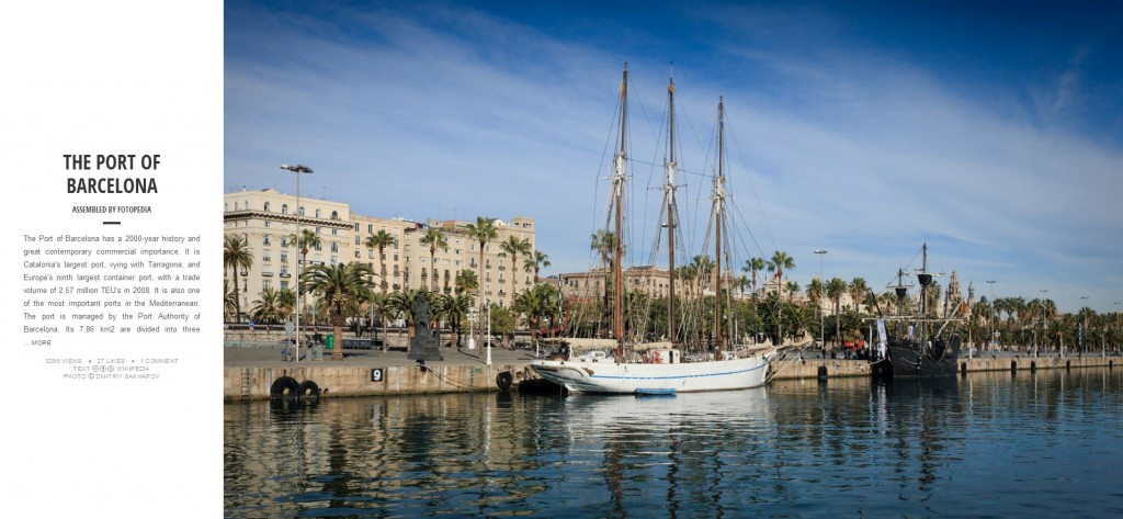 Fotopedia Magazine - Port of Barcelona