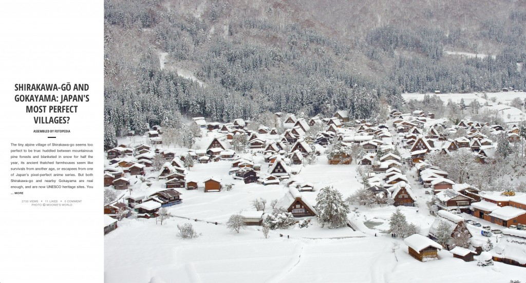 Fotopedia Magazine - Shirakawa-go and Gokayama - Japans Most Perfect Villages