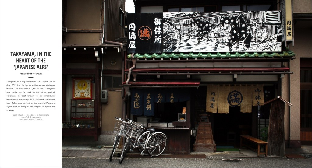 Fotopedia Magazine - Takayama, A City in the Heart of the Japanese Alps