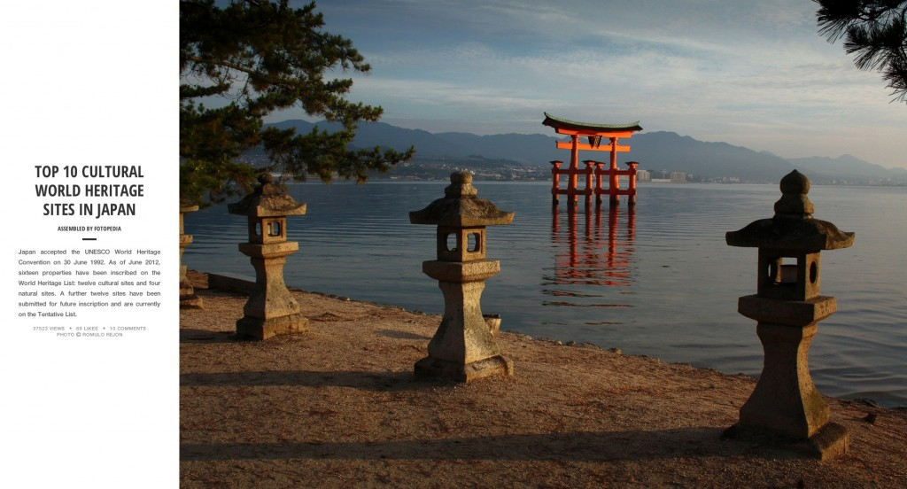 Fotopedia Magazine - Top 10 Cultural World Heritage Sites in Japan